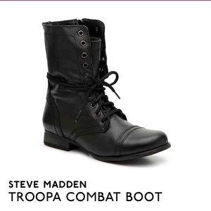 Like New Combat Boots